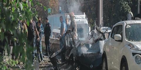 В Днепре во время взрыва автомобиля погибли люди Днепродзержинск
