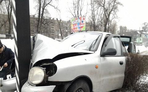 Авария на Гимназическом проспекте Каменского Днепродзержинск