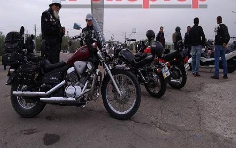 В г. Каменское дали старт мотопробегу памяти Днепродзержинск