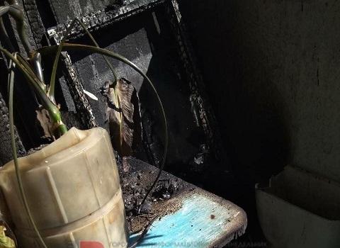 В квартире по ул. Харьковская г. Каменское горел балкон Днепродзержинск