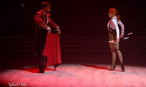 Новый сезон «Танцы со звездами» открыл Иракли и Яна Заяц из Каменского Днепродзержинск