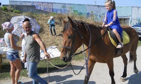 В Каменском прошла ярмарка «Зеленый дворик» Днепродзержинск