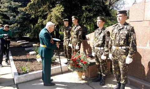 В г. Каменское прошли первые торжества ко Дню Победы Днепродзержинск