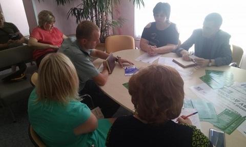 В ЦГБ г. Каменское провели круглый стол Днепродзержинск
