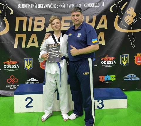 Тхэквондисты г. Каменское завоевали 6 медалей на открытом турнире в Одессе Днепродзержинск