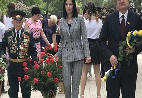 Каменчане почтили память героев Второй мировой войны Днепродзержинск