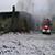В Заводском районе города Каменское пожар тушили