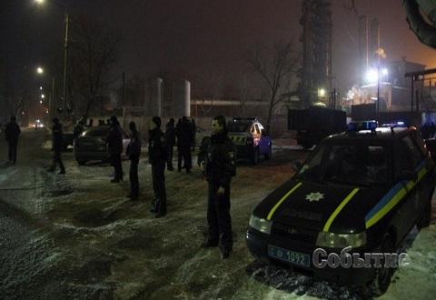 Правоохранители г. Каменское завершили операцию по задержанию вооруженных людей Днепродзержинск