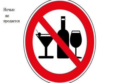 Запрет на продажу алкоголя ночью снова стал реальностью в Каменском Днепродзержинск