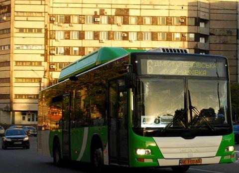 В г. Каменское укомплектовали автобусами маршрут № 6 Днепродзержинск