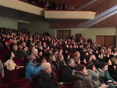 «ДнепрАзот» г. Каменское поздравил женщин с праздником Днепродзержинск