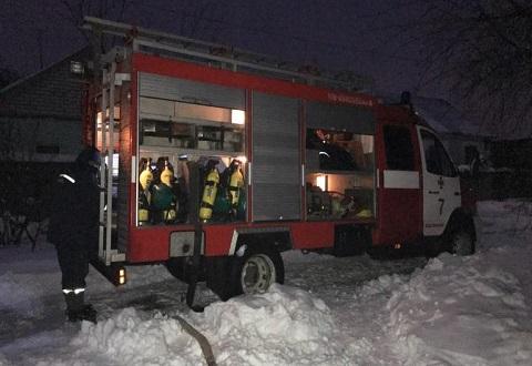 В Заводском районе Каменского сгорел курятник Днепродзержинск