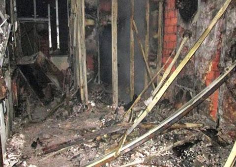 Днепропетровская область: cотрудники экстренных служб устранили возгорание набазе отдыха
