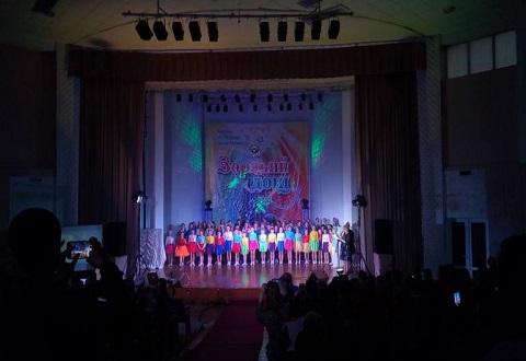 В Каменском прошел отчетный концерт ШЭМ «Звездный дождь» Днепродзержинск
