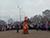 Горела Масленица в левобережном парке Каменского